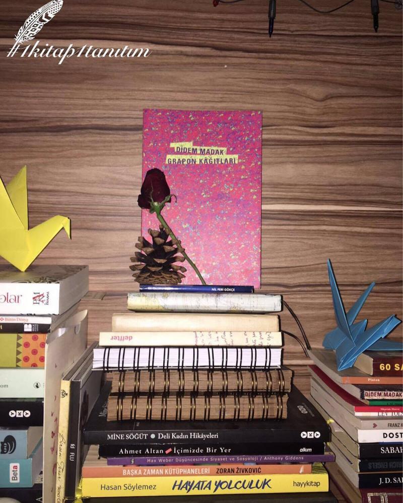 Didem Madak Grapon Kağitlari Kitap Tanıtımlarımız